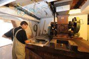Brauerei Spezial |Christian Merz an der historischen Schrotmühle