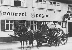 Historie  Brauerei Spezial