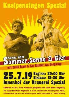 """Kneipensingen """"Spezial"""" mit David Saam und Res Richter von Boxgalopp !"""